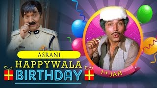 Asrani Birthday Mix - Happy Birthday Asrani - Ace Comedian of Bollywood!!!