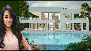 Trisha Krishnan  Luxury Life | Net Worth | Salary | Business | Cars | House | Family | Biography