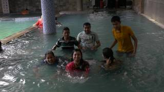 Cox's Bazar Hotel - Girls and Boys enjoying pool time at Long Beach Hotel (Cox's Bazar, Bangladesh)