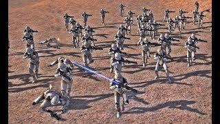 501st Legion vs 212th Attack Battalion (300 v 300) - Star Wars Galaxy at War