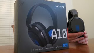 ASTRO A10 Headset Review ($60 ASTRO Gaming Headset!)