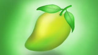 Painting a mango with Corel Painter 2015 new 2016 khmer