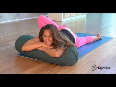 Yin Yoga Deep Stretches for flexibility meditation and a peaceful mind with Yogi Nora