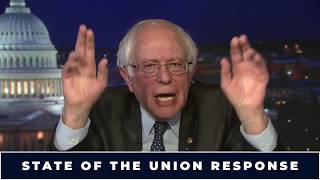 Bernie Responds to the State of the Union