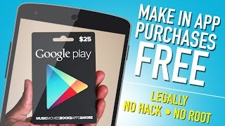 Free In App Purchases on Android (No Root) 2015