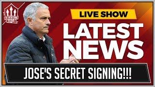 MOURINHO'S Secret Transfer Target   MAN UTD TRANSFER NEWS