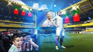 ¡¡¡ PINO me consigue a RONALDO TOTS en Fifa mobile!!!