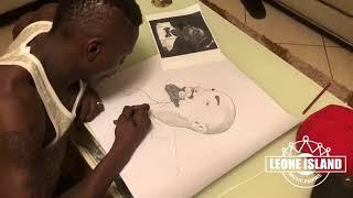 JOSE CHAMELEONE: Drawing Radio potrait (Tribute)