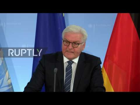 Germany: Ongoing Syria peace talks 'only intermediate step' - Steinmeier