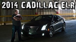 2014 Cadillac ELR Electric Luxury Automobile Test Drive & Review
