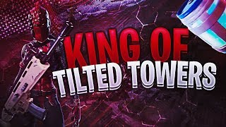 INSANE WIN WITHOUT LEAVING TILTED TOWERS!! THE KING OF TILTED?! FORTNITE BATTLE ROYALE FULL GAMEPLAY