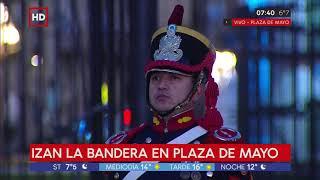 Día De La Bandera: Izan La Bandera En Plaza De Mayo