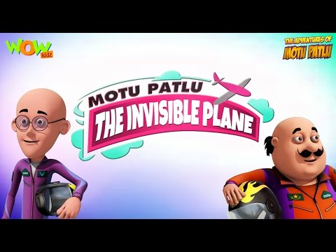 The Invisible Plane Motu Patlu Movie 3d Animation Movie For Kids