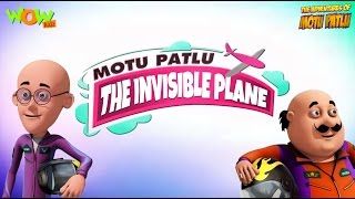 The Invisible Plane - Motu Patlu Movie - 3D Animation Movie for Kids |As on Nick Jr.