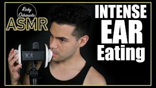 ASMR - Intense Ear Eating | Wet Mouth Sounds (Ear Nibbles, Licking for Sleep & Relaxation)