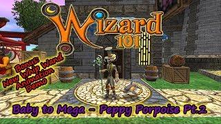 Wizard101 Baby To Mega Peppy Porpoise Pt 2 BONUS Wand Animation
