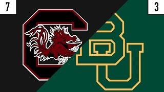 7 South Carolina vs. 3 Baylor Prediction | Who