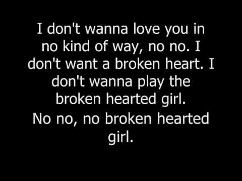 Broken Hearted Girl by Beyonce.