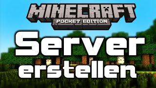 Minecraft PE Server erstellen