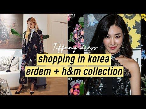 Shopping in Korea: Erdem x H&M (Tiffany SNSD Dress) | Q2HAN