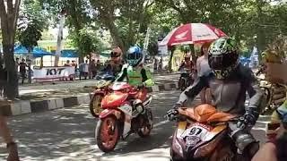 LUCU!! Kena Finalty Saat Star Honda Cup Race Stabat Medan 2017