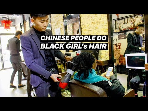 Xxx Mp4 BLACK GIRL GETS HAIR DONE IN CHINA🇨🇳SHOCKING RESULTS 3gp Sex