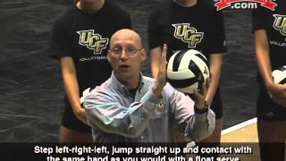 Learn to Hit Four Different Kinds of Serves! - Volleyball 2015 #14