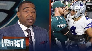 Cowboys lose to the Eagles during Week 11 - What went wrong for Dallas? | FIRST THINGS FIRST