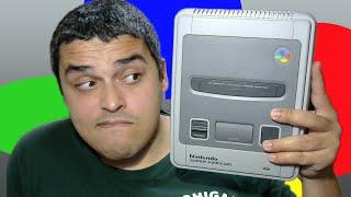 Re-unboxing do Super Famicom (Super Nintendo Japonês)