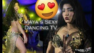 الراقصة صوفيا ترقص ببدلة شفافة جدا مونتاج رقصها بمؤخرتها