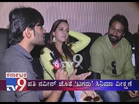 Xxx Mp4 Bhavana Menon Naveen Watches Tagaru Movie Shares About Their Married Life 3gp Sex