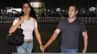 Salman Khan and Sara Ali Khan Best Moments Together | Spotted at Mumbai Airport