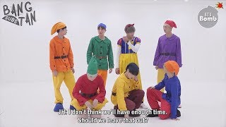 [ENG] 171109 [BANGTAN BOMB] '고민보다 GO (Halloween ver.)' Behind - BTS (방탄소년단)