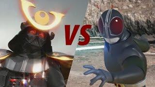 Darth Vader vs Kamen Rider Black RX - Animated Film (Parody!!)