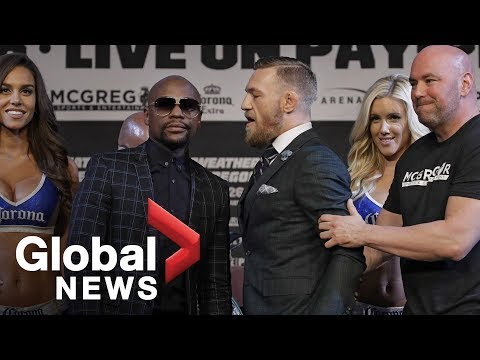 Xxx Mp4 Floyd Mayweather Vs Conor McGregor Final Press Conference Ahead Of Fight 3gp Sex