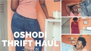 Oshodi market thrift haul + TRY ON | OmogeMuRa