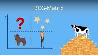 Die BCG Matrix (Portfolioanalyse) - Erklärung und Beispiel