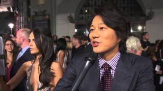 Sung Kang Furious 7 Premiere Interview - Fast & Furious 7