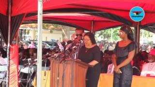 Tribute read on behalf of Major Mahama's Mother
