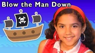 Pirate Adventure Song | Blow the Man Down and More | Baby Songs from Mother Goose Club!