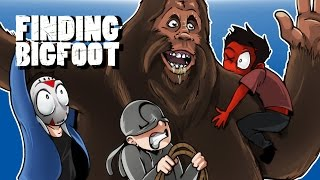 FINDING BIGFOOT - BACK IN THE FOREST! With Cartoonz & Ohmwrecker!