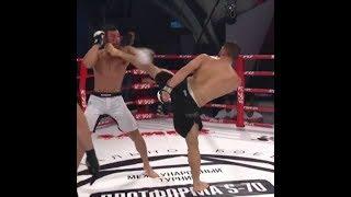 Huge Head Kick KO: Arman Tsarukyan vs Felipe Olivieri