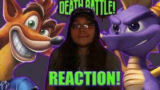 WOAH! Crash VS Spyro | DEATH BATTLE!