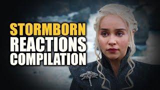 Game of Thrones Season 7 | STORMBORN Reactions Compilation