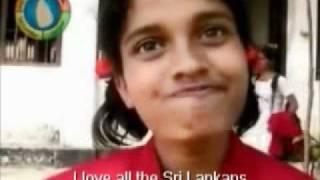 Kalani a Sinhala girl from Tangalle Balika Hambanthota talks in Tamil