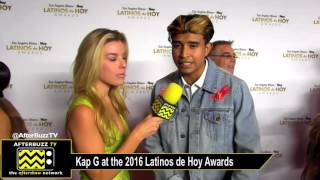 Kap G at the Latinos de Hoy Awards