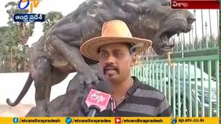 Meet Mr.Ramana Rao | An Eminent Sculptor Making Eye Catche Idols | on Several Places of Vizag
