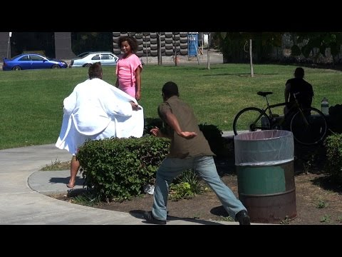 Flashing Children Prank