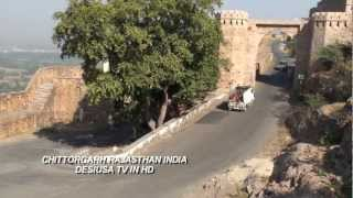 FORT OF CHITTORGARH RAJASTHAN INDIA IN HD