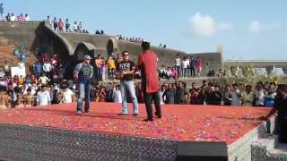 Salman Khan tubeLight movie promotion in Bandra Mumbai || With Sohel Khan and comedian Krishna